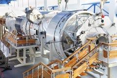 宇宙空间环境模拟器在宇航员培训中心 库存图片