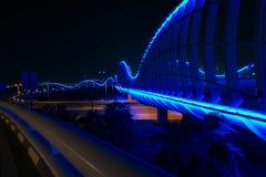 宇宙蓝色桥梁 免版税图库摄影