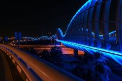 宇宙蓝色桥梁 库存图片
