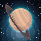 宇宙行星空间概念 库存例证