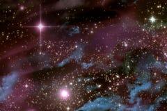 宇宙Starscape 免版税图库摄影