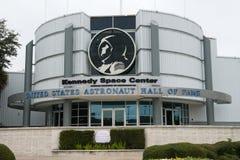 宇航员名人堂肯尼迪航天中心 库存照片