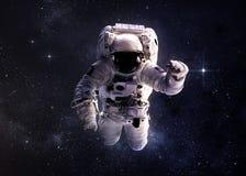 宇航员外层空间 库存照片