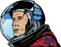 宇航员男 免版税库存图片