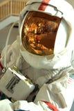 宇航员盔甲和面罩-特写镜头 免版税图库摄影