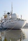 宇航员胜者Patsayev调查船的船尾的看法 库存图片