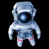 宇航员,与工作道路的图象 免版税库存照片