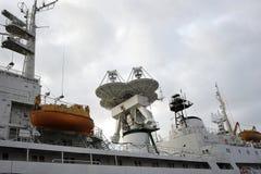 宇航员维克托Patsaev调查船 免版税库存照片
