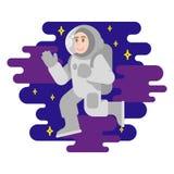 宇航员 库存例证