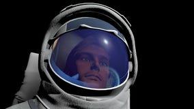 宇航员 免版税图库摄影