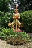 守卫一个植物园的邪魔在东南亚 免版税图库摄影
