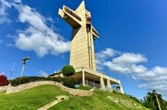 守卫十字架在Ponce,波多黎各 库存照片