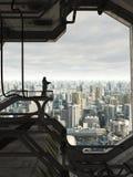 守卫未来城市 免版税库存图片