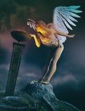 守护天使 皇族释放例证