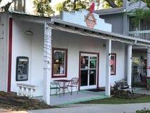 守旧派比萨店,端起皇家,南卡罗来纳 图库摄影