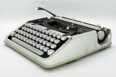 守旧派被隔绝的打字机机器 免版税库存图片