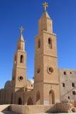 安东尼基督徒科普特人的埃及修道院s 免版税库存图片