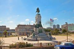 安东尼奥马塞奥纪念碑在哈瓦那,古巴 库存图片