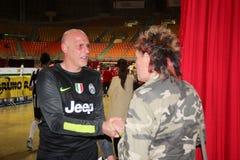 安东尼奥Chimenti和保罗索朗热 库存照片