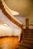 安东尼奥Gaudi巴塞罗那房子住处Batllo内部细节 免版税库存照片