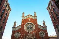 安东尼教会帕多瓦st 库存图片