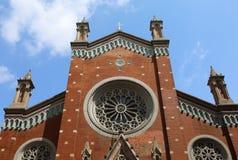 安东尼教会帕多瓦st 免版税库存图片
