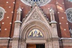 安东尼教会帕多瓦st 免版税库存照片