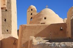 安东尼科普特人的埃及修道院s st 免版税图库摄影