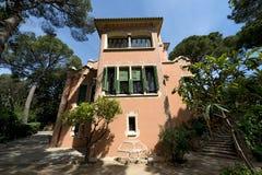 安东尼Gaudi -巴塞罗那西班牙议院  库存图片