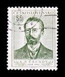 安东Pavlovich柴霍甫1860-1904,大约1954年 库存图片