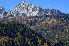 安佩佐白云岩每美好的10月天 库存图片