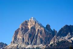 安佩佐白云岩每美妙的秋天天 图库摄影