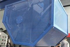 安全保护的钢卫兵 库存照片