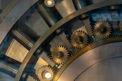 安全保险箱银行地下室 免版税库存图片
