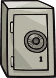 安全剪贴美术动画片例证 免版税库存图片