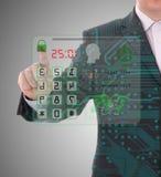 安全和保护代码 免版税库存图片
