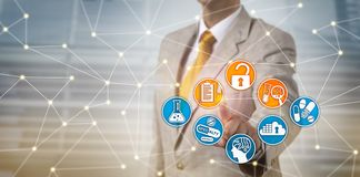 安全地访问药物发现数据的执行委员 图库摄影