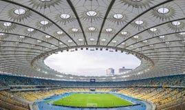 安全委员会奥林匹克体育场(安全委员会Olimpiyskyi)在Kyiv,乌克兰 库存照片