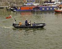 安全小船 库存照片