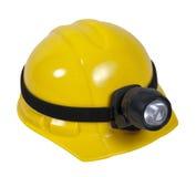 安全帽闪亮指示 图库摄影