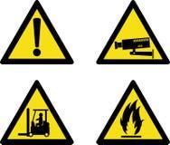 安全性符号站点工作场所 向量例证
