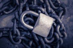 安全挂锁 免版税图库摄影