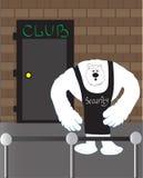 安全熊 免版税库存照片