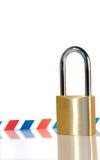 安全的信包 免版税库存图片