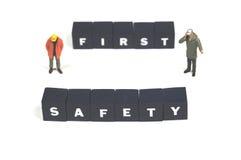 安全的工作 免版税库存图片
