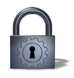 安全的技术 免版税图库摄影