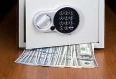 安全的美元 免版税库存照片