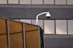 安全监控相机和都市录影 免版税库存图片