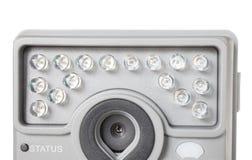 安全监控相机闪光 库存图片