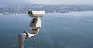 安全监控相机 库存图片